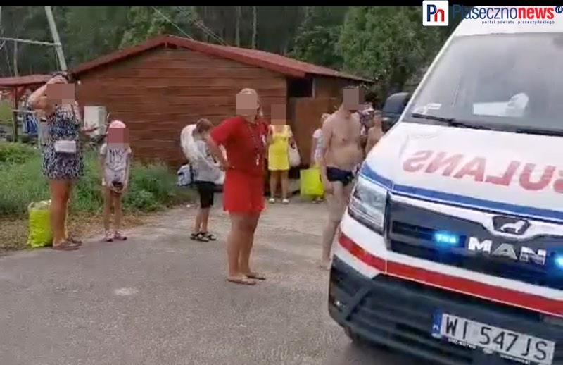 Wypadek na basenie. Znamy stan zdrowia chłopca