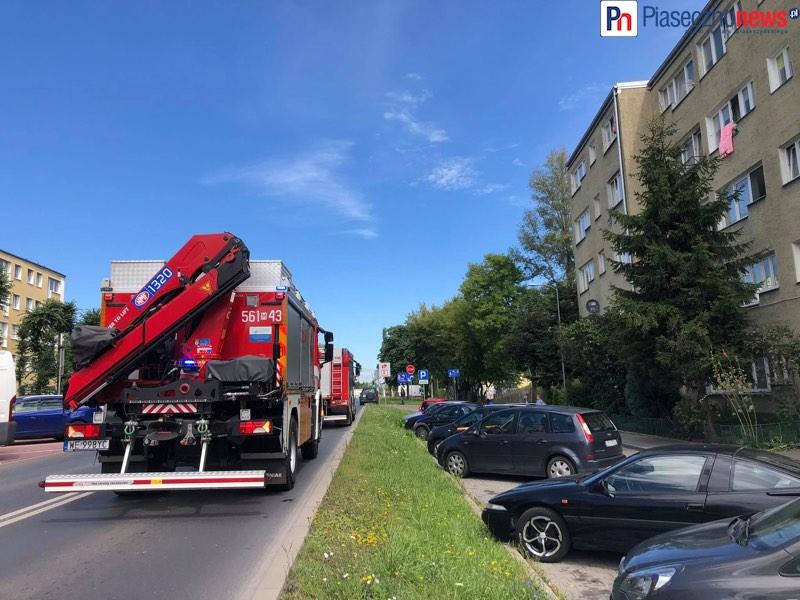 Ulica zamknięta, strażacy wejdą do mieszkania [AKTUALIZACJA]