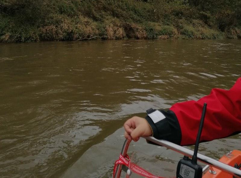 Odnaleziono ciało na brzegu rzeki!