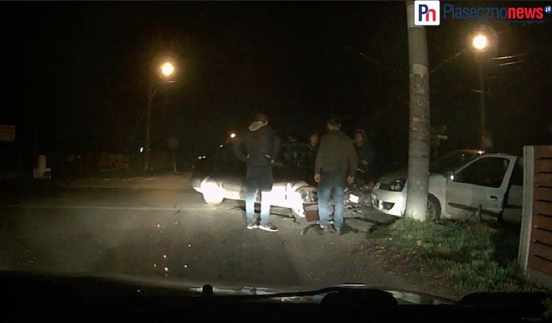Doszło do kolizji, kierowca uciekł! [Zobacz FILM]