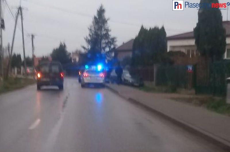 Wypadek w Głoskowie