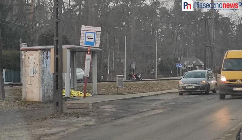 Ciało mężczyzny znaleziono na przystanku