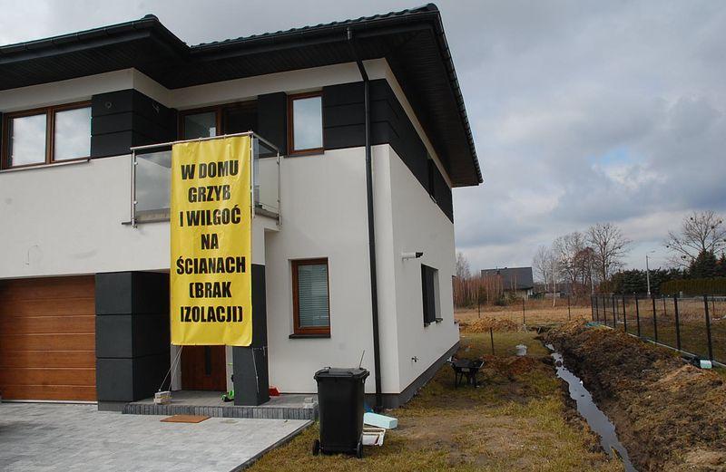 Mieszkanka: Kupiłam nowy dom, grzyba dostałam gratis