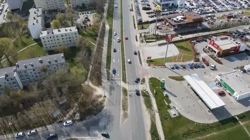 Piaseczyńska drogówka kontroluje dronem