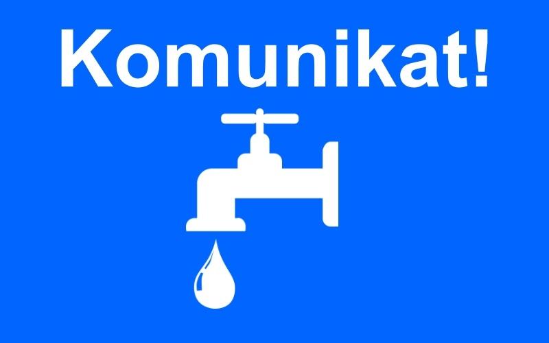 Przerwa w dostawie wody na dużym obszarze miasta