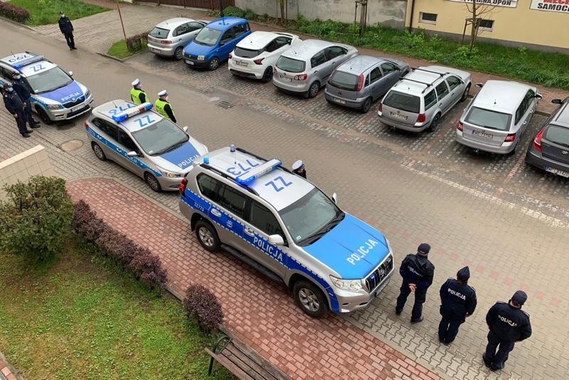 Piaseczyńscy policjanci pożegnali zastrzelonego kolegę