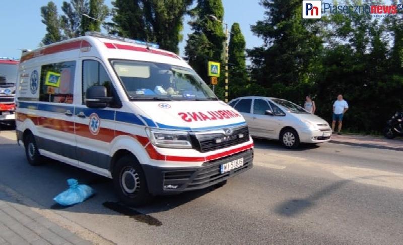 Potrącenie dziecka na przejściu dla pieszych! Wylądował śmigłowiec LPR