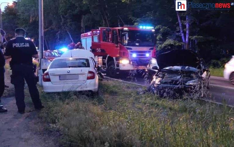 Wypadek w Zalesiu Dolnym